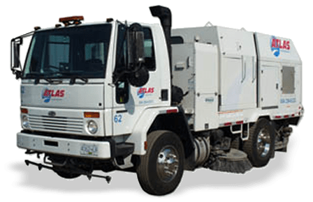 power sweeper truck