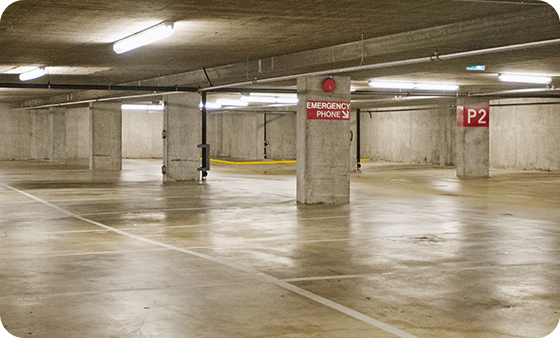power sweeping and cleaning for strata parking lots