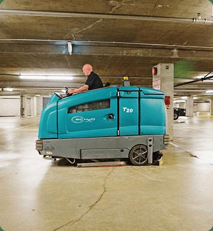 parking lot maintenance for business properties
