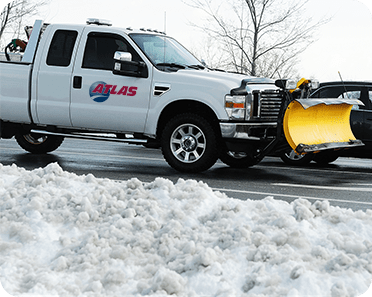 snow clearing truck