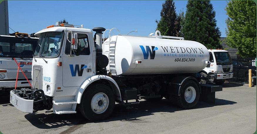 Wetdown Water Truck